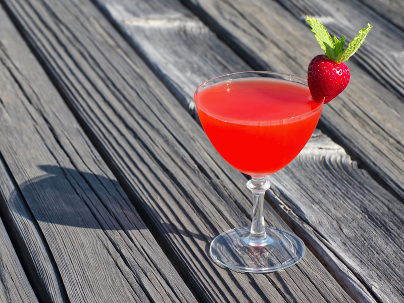 Strawberry Ginger Daiquiri